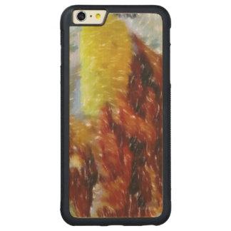 夕食の芸術 CarvedメープルiPhone 6 PLUSバンパーケース