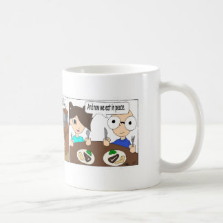 夕食時 コーヒーマグカップ