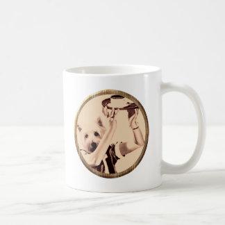 夕食犬 コーヒーマグカップ