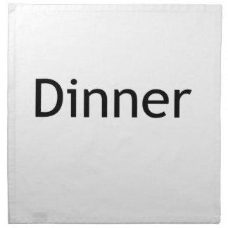 夕食 ナプキンクロス