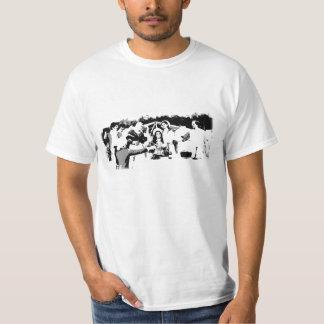 夕食 Tシャツ