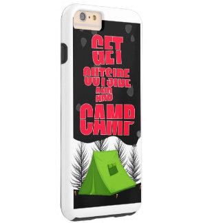外およびキャンプのiphoneの場合に得て下さい tough iPhone 6 plus ケース