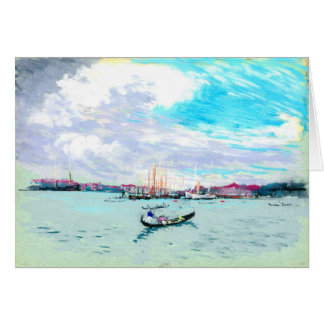 外のベニスイタリア1901年 カード