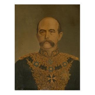 外交官のユニフォームのPrince Otto Von Bismarck ポストカード