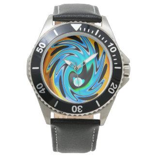外国のしぶき 腕時計