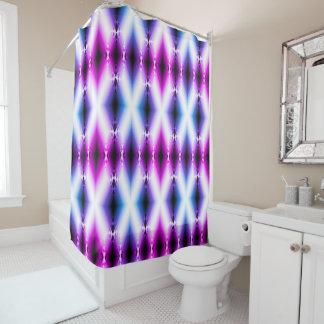 外国のビーム明るいピンクの紫色は未来を念力で移動します シャワーカーテン