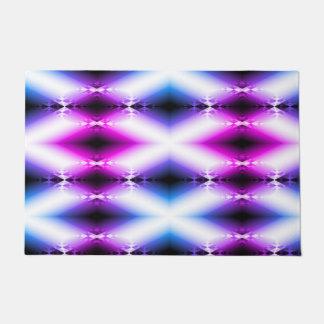 外国のビーム明るいピンクの紫色は未来を念力で移動します ドアマット