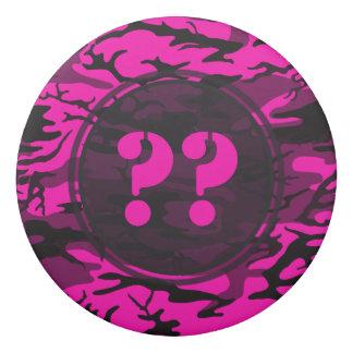外国のピンクのカスタムな迷彩柄の消す物 消しゴム