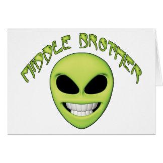 外国のヘッド中間の兄弟 カード