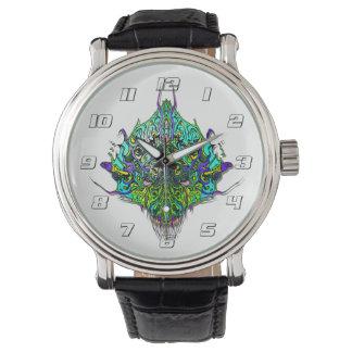 外国のヘッド邪悪な種# 44 -水2 腕時計