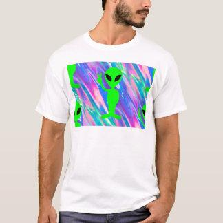 外国のホログラム Tシャツ