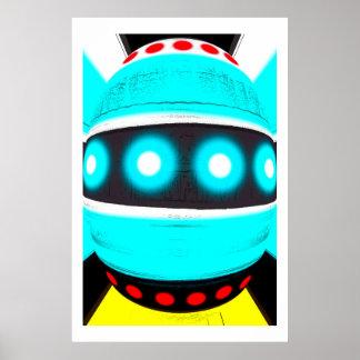外国のロボット ポスター