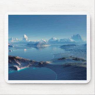 外国の世界Antartica マウスパッド