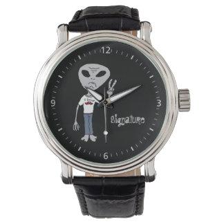 外国の信者の署名 腕時計