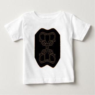 外国の円形浮彫り ベビーTシャツ