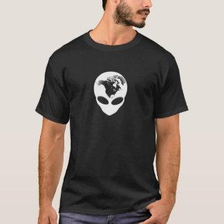外国の地球 Tシャツ