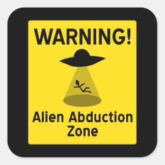 外国の外転の地帯の警告標識 スクエアシール