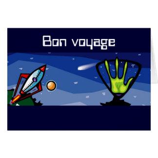 外国の宇宙船 カード