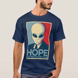 外国の希望- UFOの信者クラブ Tシャツ