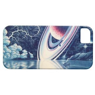 外国の惑星の私電話箱 iPhone SE/5/5s ケース