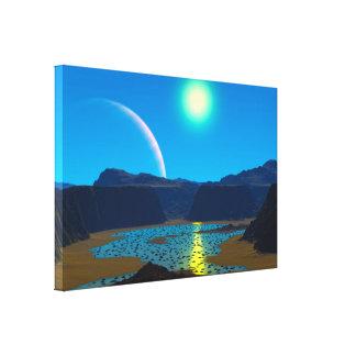 外国の惑星 キャンバスプリント