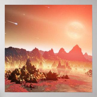 外国の惑星 ポスター