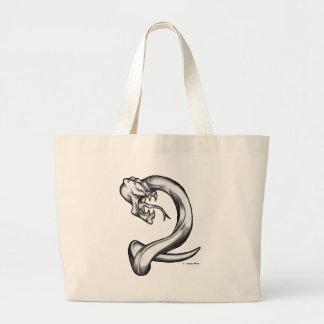外国の蛇 ラージトートバッグ