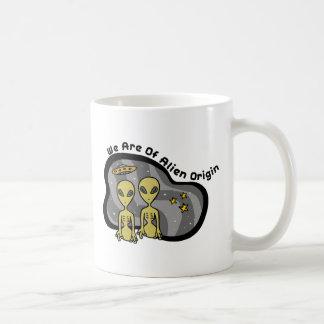 外国の起源 コーヒーマグカップ