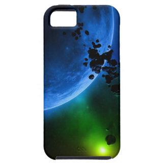 外国の青い惑星及び小惑星 iPhone SE/5/5s ケース