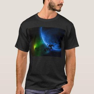 外国の青い惑星及び小惑星 Tシャツ