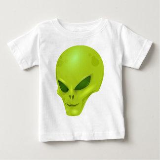 外国の頭部 ベビーTシャツ