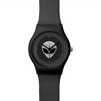 外国の頭部 腕時計