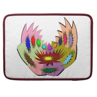 外国のTatoo: 体の穿孔およびおもしろいtastic芸術 MacBook Proスリーブ
