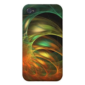 外国みみずの繭のフラクタル iPhone 4 ケース