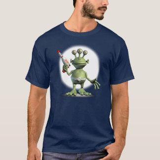 外国レーザー銃(暗い) Tシャツ