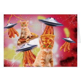 外国猫およびufos カード