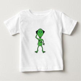 外国DJの乳児のワイシャツ ベビーTシャツ