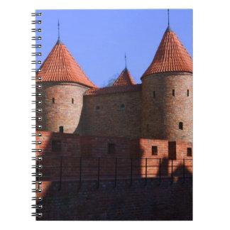 外堡、ワルシャワ、ポーランド ノートブック