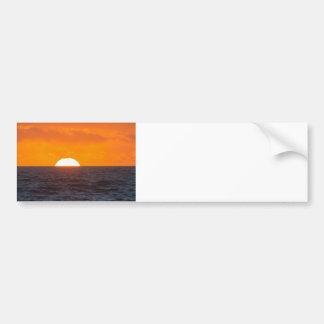 外洋航行の日没 バンパーステッカー