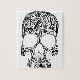 外科スカル ジグソーパズル