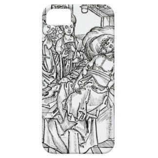外科医および助手はひどくけが人の人を訪問します、 iPhone SE/5/5s ケース