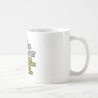 外科科学技術者の冗談。 決して傷つけないで下さい コーヒーマグカップ