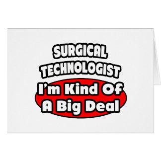 外科科学技術者。 大事 カード