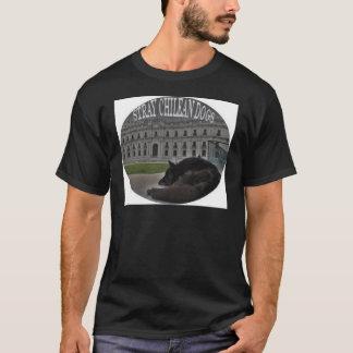 外部チリ犬 Tシャツ
