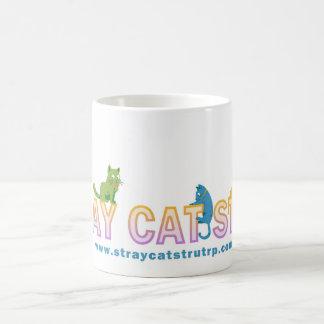 外部猫の支柱の虹のロゴのマグ コーヒーマグカップ