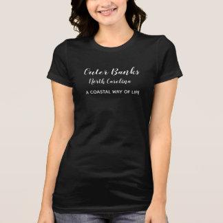 外銀行ノースカロライナの***のTシャツ Tシャツ