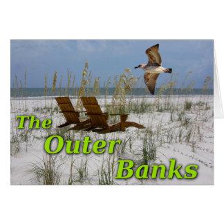 外銀行挨拶状 カード