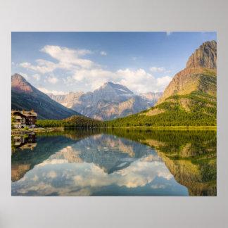 多くののSwiftcurrent湖氷河ホテル ポスター