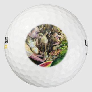 多くの人、多くのメロン、ブダペスト ゴルフボール