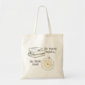 多くの本、少し時間 トートバッグ